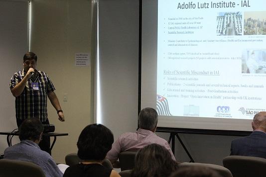 fa8b09272 Apresentação oral da Proposta para promoção da cultura de integridade na  pesquisa no Instituto Adolfo Lutz